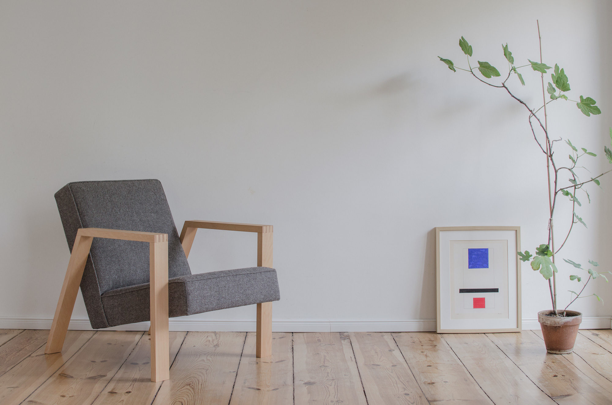 The PONTIER Nº1 armchair