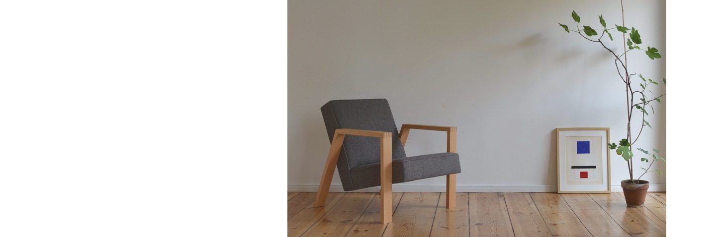 Pontier N°01 armchair with Kvadrat Molly 2 - 194 upholstery